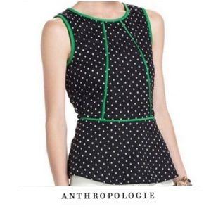 Anthropologie Weston Wear Peplum Top